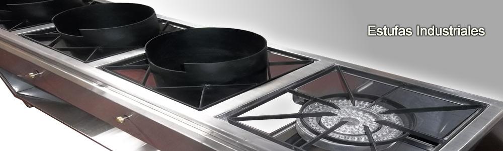 Fabrica de estufas industriales en acero inoxidable en for Estufas industriales