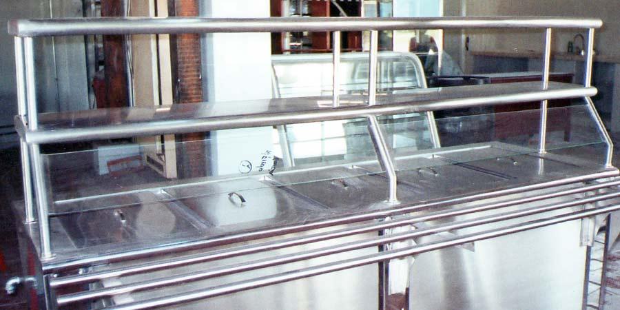 Fabrica de barras autoservicio en acero inoxidable en cali for Estufas industriales cali